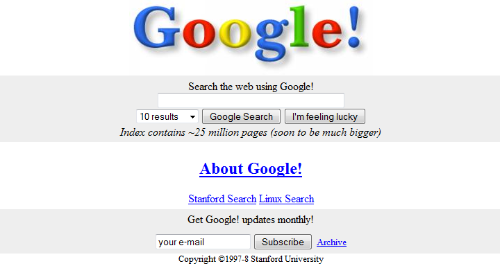 Google First Page
